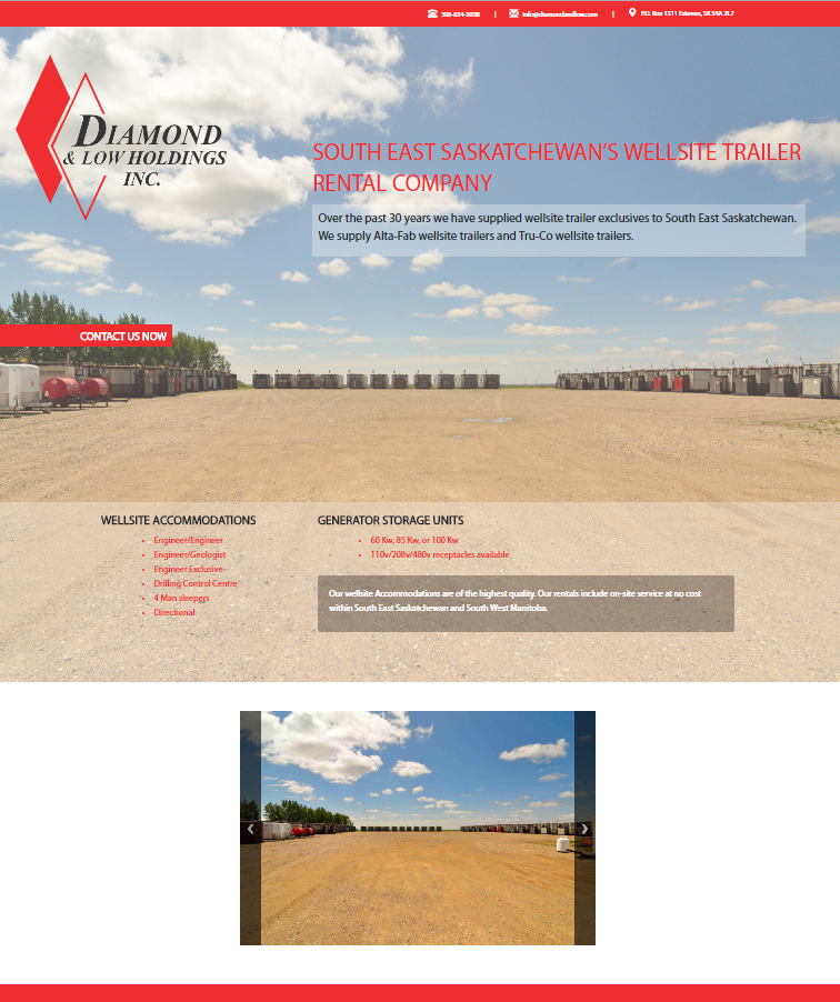 DMS Services Website Portfolio - Diamond & Low Holdings